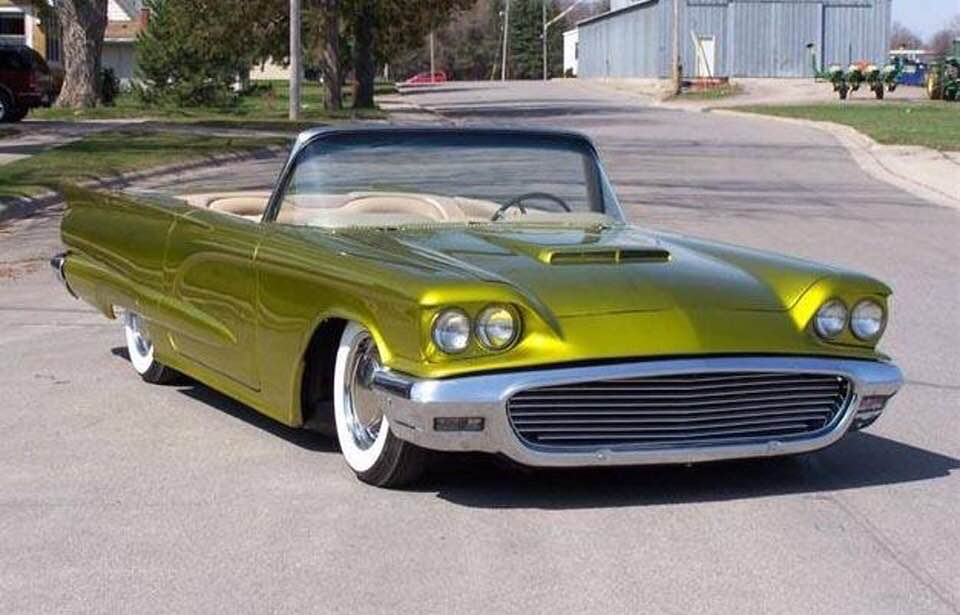 Ford Thunderbird 1958 - 1960 custom & mild custom - Page 3 49461710