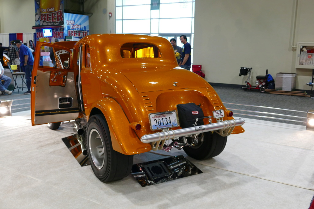 1933 Willys coupe Gasser - Past gas 49537021