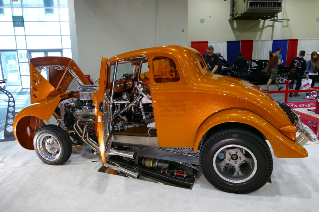 1933 Willys coupe Gasser - Past gas 49537023