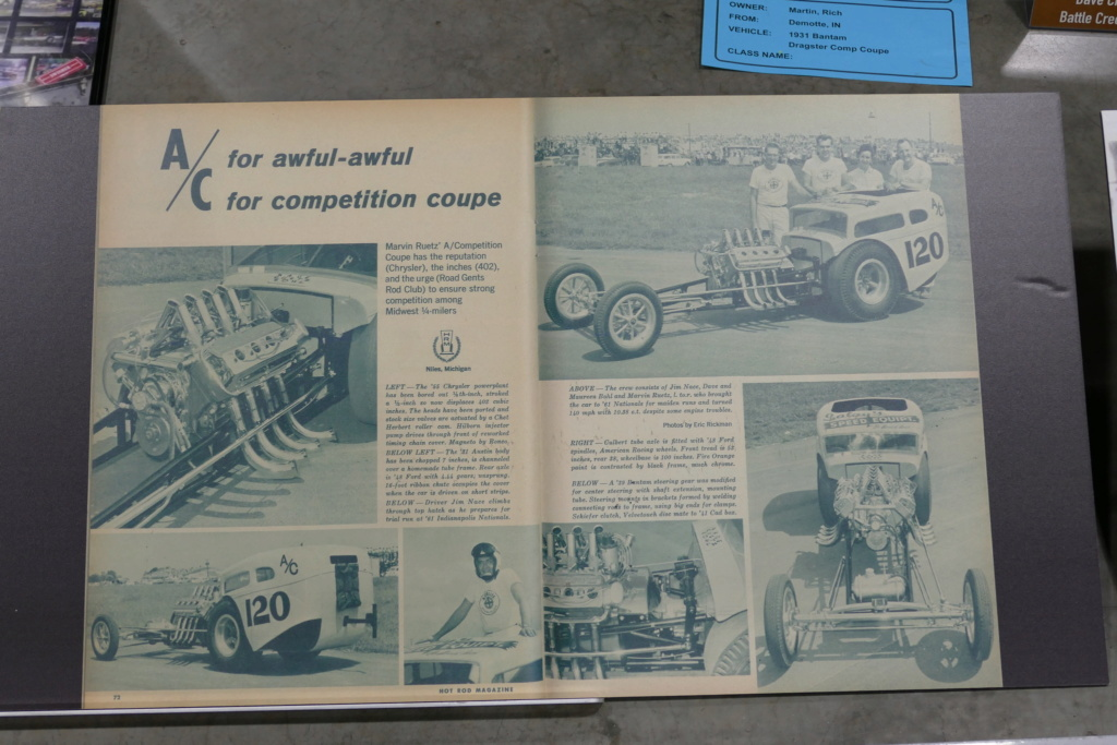 Martin Ruetz - A/Competition coupe - 31' Austin Body - '55 Chrysler Powerplant, 402 cubic inch 49560517
