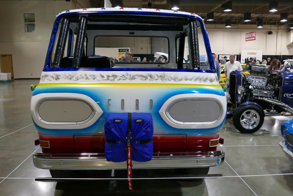 1965 Ford Econoline pick up - Dick Harding's Exibition Drag Race Wheelstanders 49562010