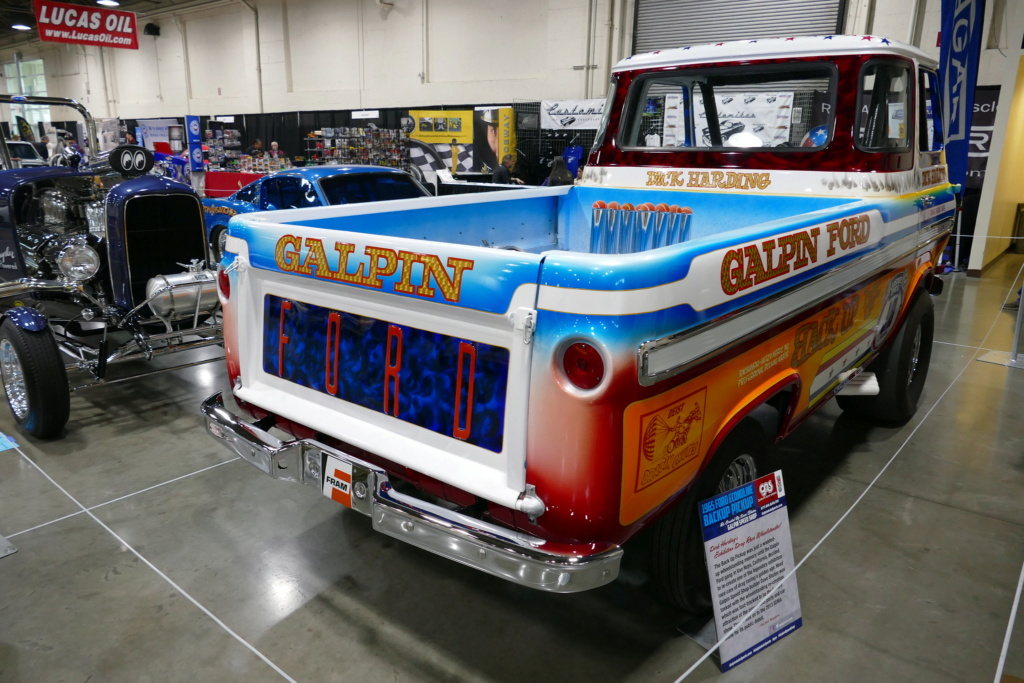 1965 Ford Econoline pick up - Dick Harding's Exibition Drag Race Wheelstanders 49562012