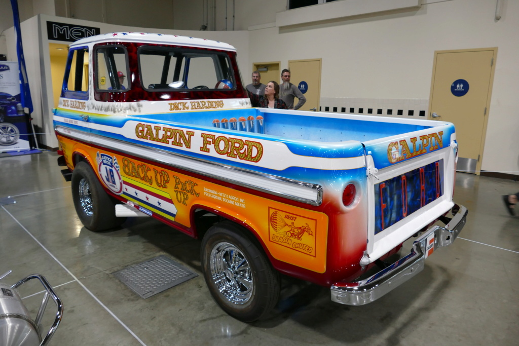 1965 Ford Econoline pick up - Dick Harding's Exibition Drag Race Wheelstanders 49562510