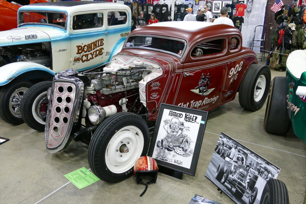 1934 Ford 5 windows Dragster - Dirty 4 - Flat Trap Racing 49669211