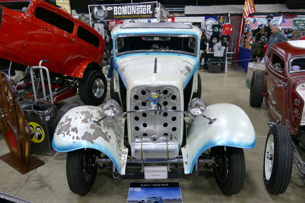 """The """"Bonnie and Clyde"""" 1932 Ford drag sedan, built in the late 50s 49669216"""