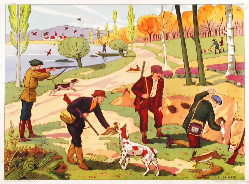 Affiches (tableaux)  pédagogiques Editions Rossignol 1946 - 1970s 4b4dc910