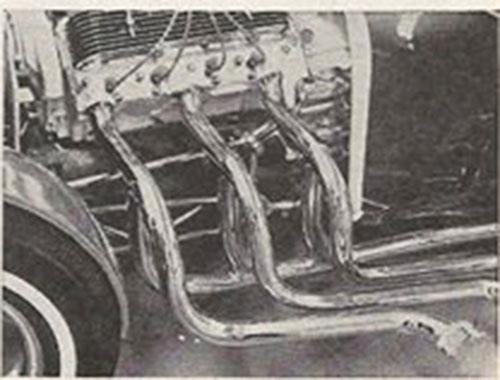John Burnes, The Manta Ray - 32 Ford radical show rod Bat - Toronto, Ont. Car Craft, Jul 1963 4bat10