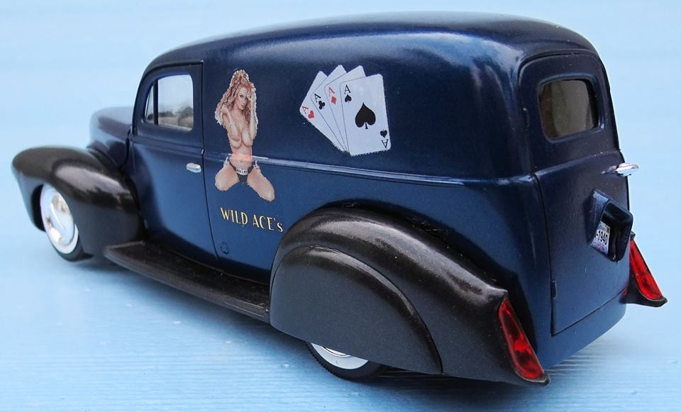 1940 Ford Sedan Delivery - Amt - 1/25 scale 50813410