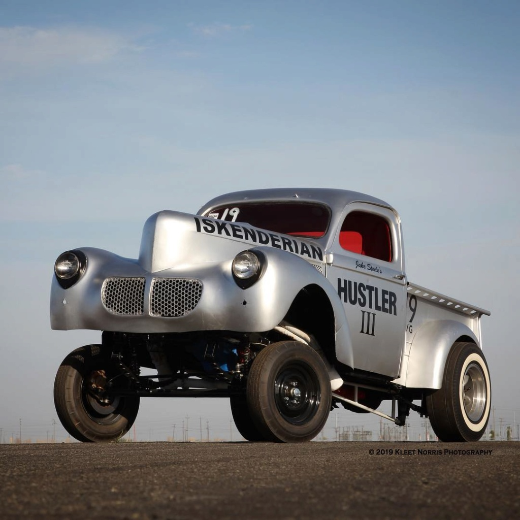 Willys pickup 1940- Gasser dragster - Hulster 3 51119510