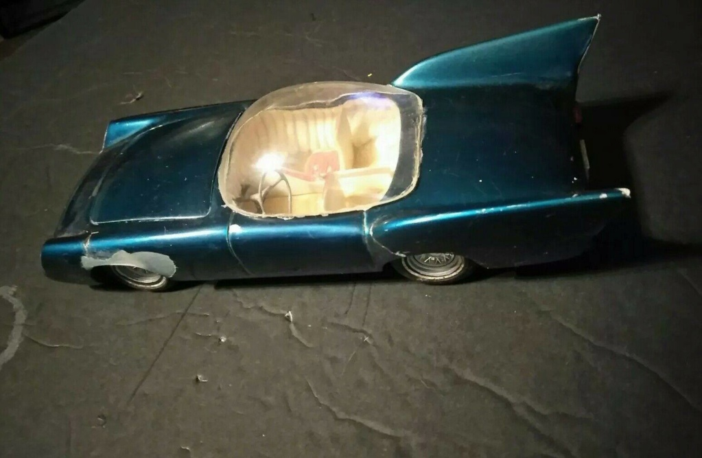 1957 Ford Thunderbird - Customizing kit  - Trophie Series - amt - 1/25 scale 51295810