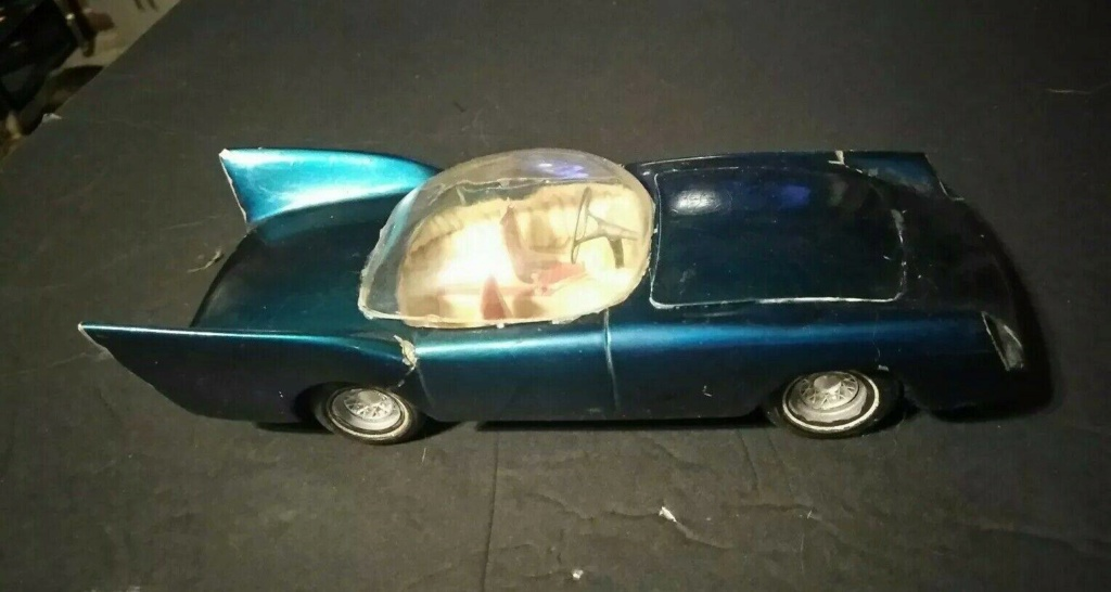 1957 Ford Thunderbird - Customizing kit  - Trophie Series - amt - 1/25 scale 51426010