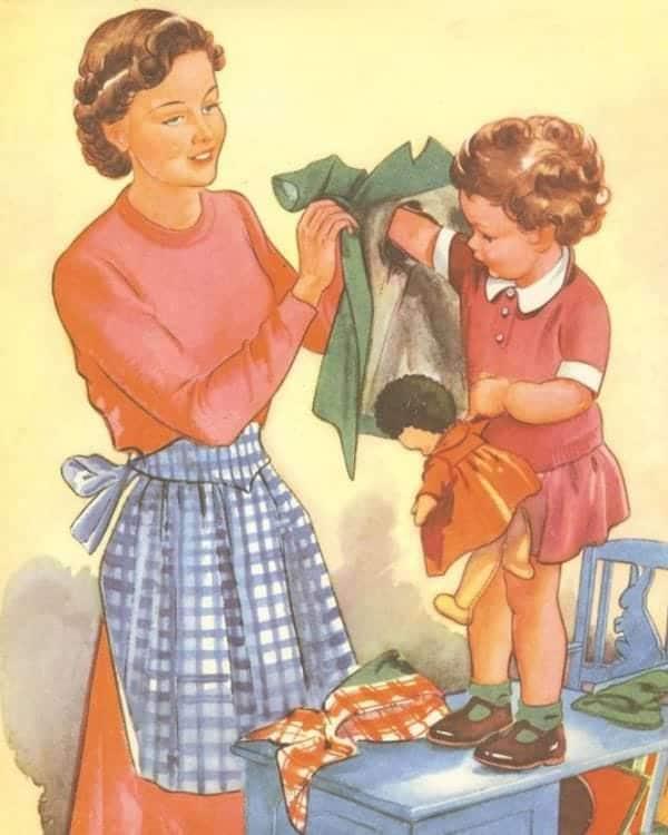 """Mai 1955, Housekeeping Monthly a publié un article intitulé """"Le Guide De La Bonne Épouse"""" 51710"""