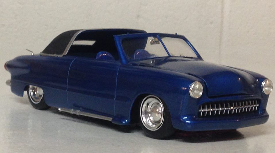 1950 Ford Convertible - customizing kit - trophie series - amt 52605610