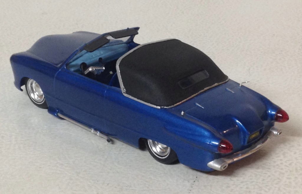 1950 Ford Convertible - customizing kit - trophie series - amt 52887310
