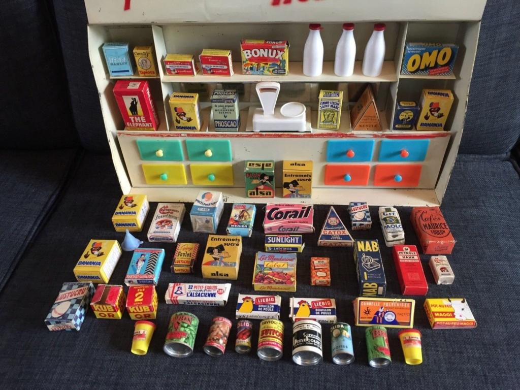 Epicerie jouet années 50 - Grocery toys vintage 530