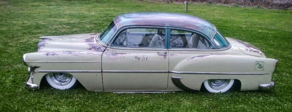 Chevy 1953 - 1954 custom & mild custom galerie - Page 17 53chev10