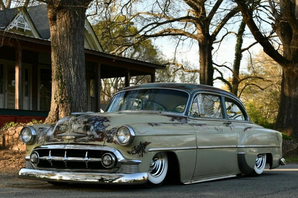 Chevy 1953 - 1954 custom & mild custom galerie - Page 17 53chev12