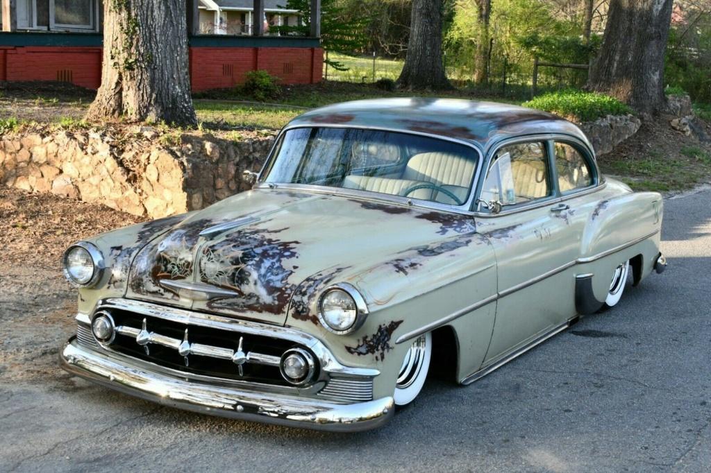 Chevy 1953 - 1954 custom & mild custom galerie - Page 17 53chev18