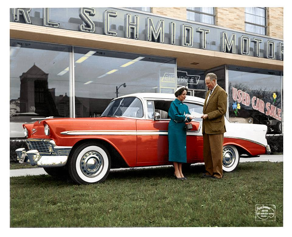 B & W Classic cars and vintage pics colorized by Imbued with hues 5477_510