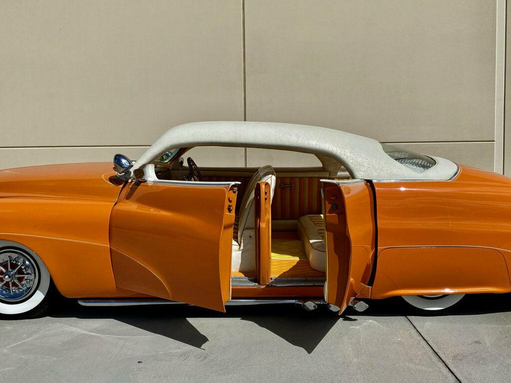 "1951 Mercury Custom Sedan BUILT BY HALL OF FAME KUSTOMIZER FRANK DE ROSA  INDUSTRY KNOWN AS ""MERCURY 4"" 548"