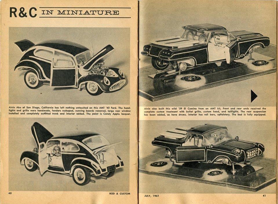 Vintage built automobile model kit survivor - Hot rod et Custom car maquettes montées anciennes - Page 12 54800210