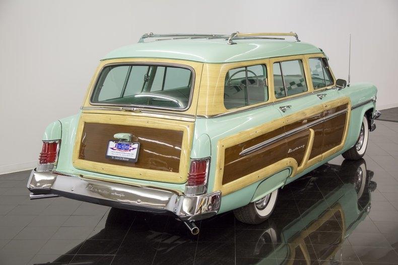 1954 Mercury Monterey Station Wagon Automatic 54la2910