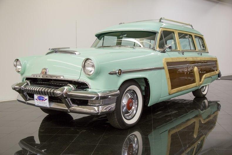 1954 Mercury Monterey Station Wagon Automatic 54la2911