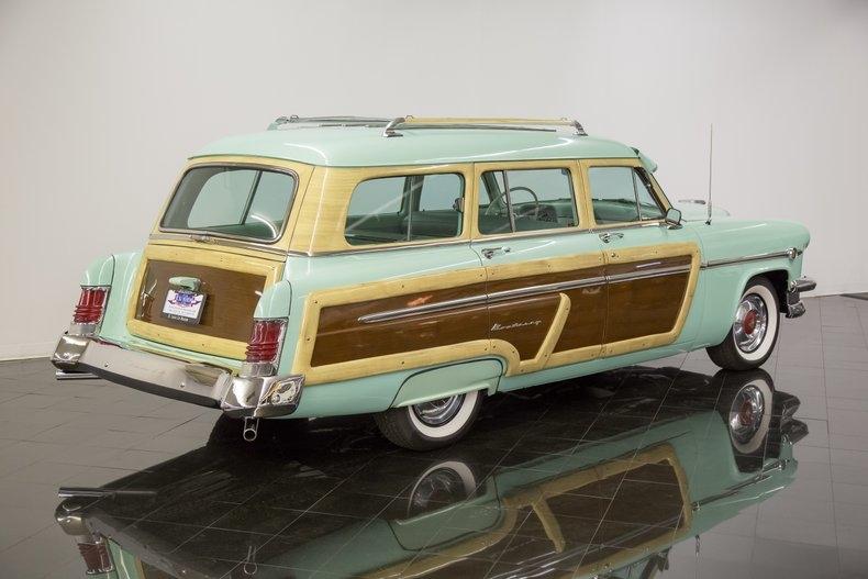 1954 Mercury Monterey Station Wagon Automatic 54la2912