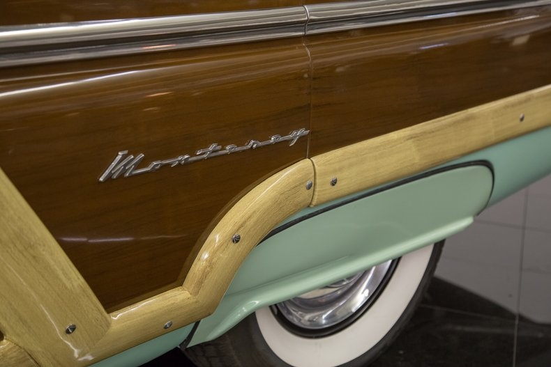 1954 Mercury Monterey Station Wagon Automatic 54la2915