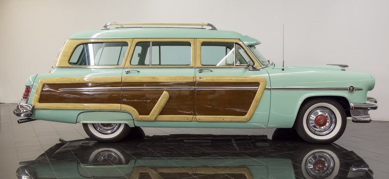 1954 Mercury Monterey Station Wagon Automatic 54la2917