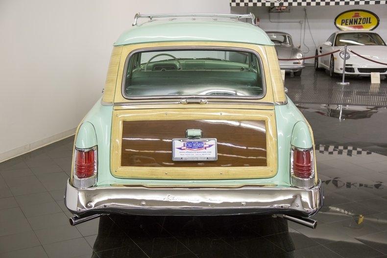 1954 Mercury Monterey Station Wagon Automatic 54la2921