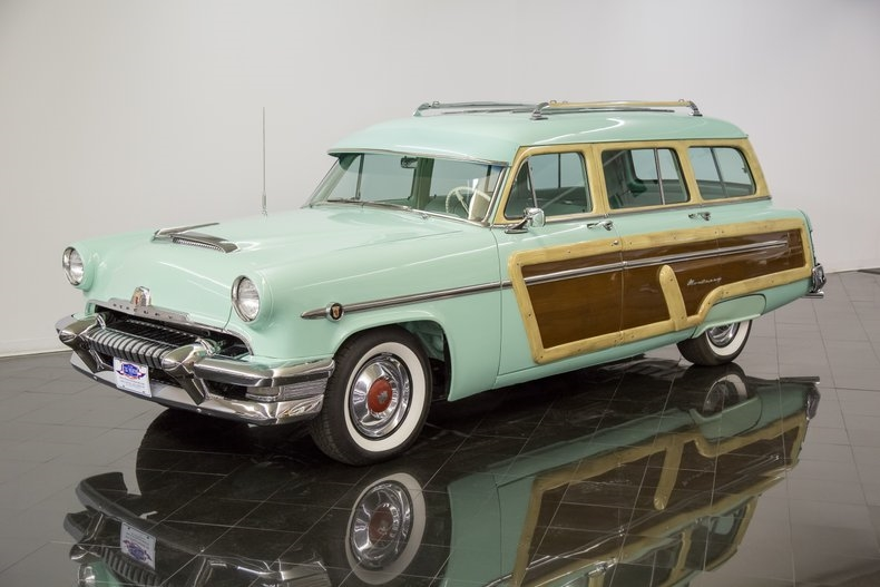 1954 Mercury Monterey Station Wagon Automatic 54la2922