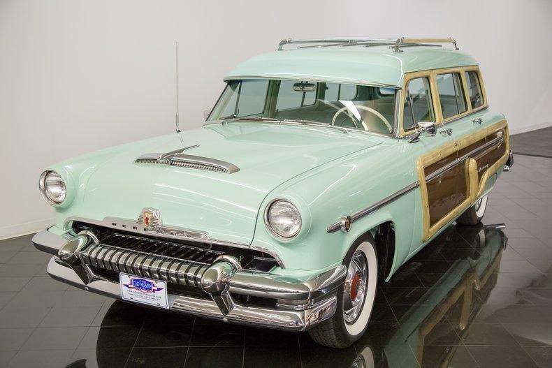 1954 Mercury Monterey Station Wagon Automatic 54la2923