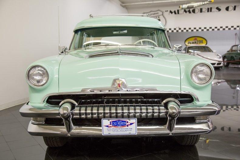1954 Mercury Monterey Station Wagon Automatic 54la2924
