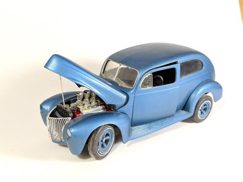 Vintage built automobile model kit survivor - Hot rod et Custom car maquettes montées anciennes - Page 12 55576110