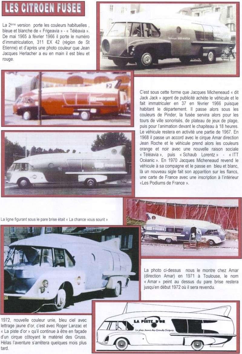 """Citroën Type 55 - Charbonneaux / LEFFONDRE"""" 1955/56 - Camion fusée frigeavia Teleavia - Cirque Pinder 55_fus11"""