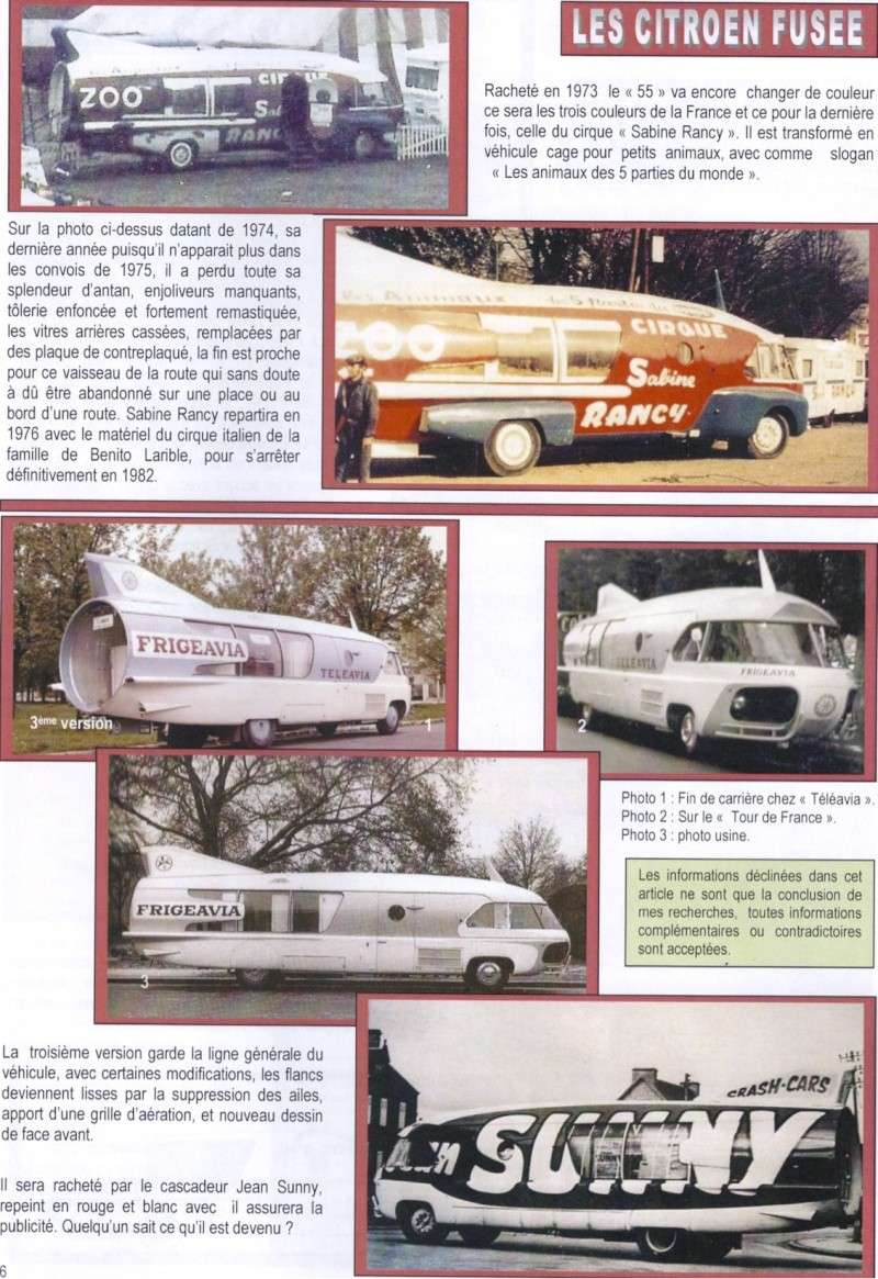 """Citroën Type 55 - Charbonneaux / LEFFONDRE"""" 1955/56 - Camion fusée frigeavia Teleavia - Cirque Pinder 55_fus12"""
