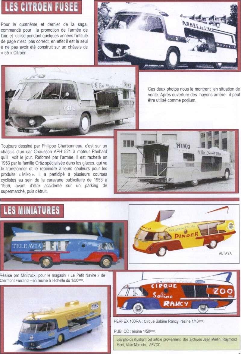 """Citroën Type 55 - Charbonneaux / LEFFONDRE"""" 1955/56 - Camion fusée frigeavia Teleavia - Cirque Pinder 55_fus13"""