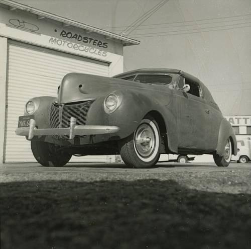 1940 Mercury Convertible - Charles Marr - Carl Morton -  Valley Custom Shop 5610