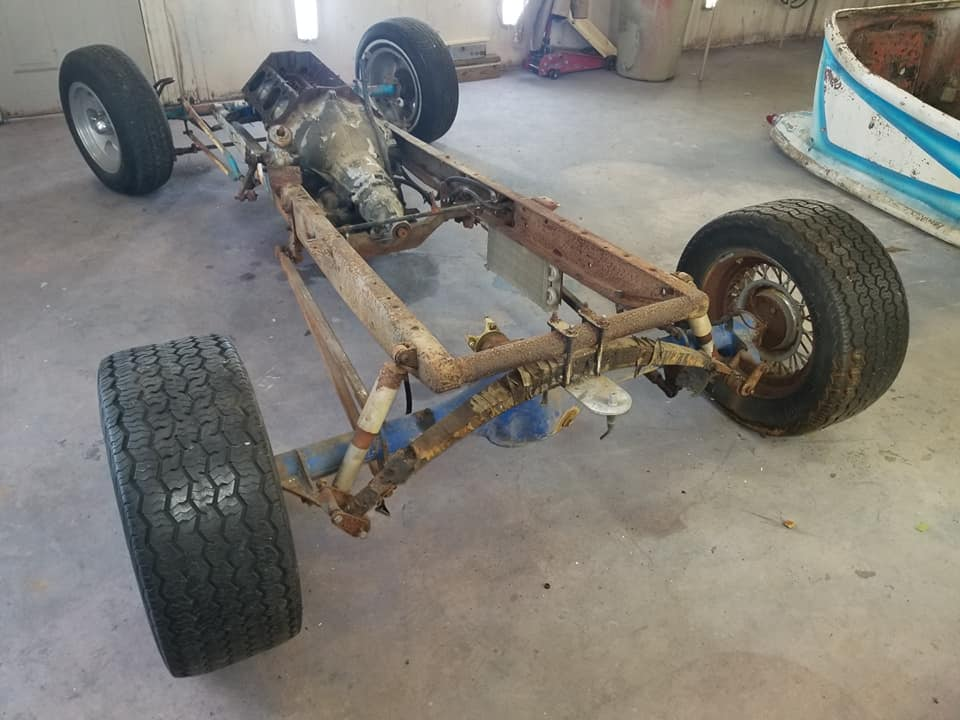 """Doug Young's Project - Suvivor """"T"""" Rod with original Ed Roth's Outlaw Body 56547310"""