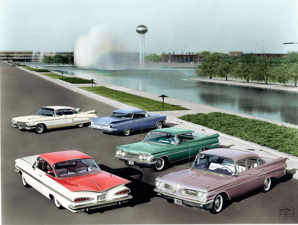 B & W Classic cars and vintage pics colorized by Imbued with hues 56770511