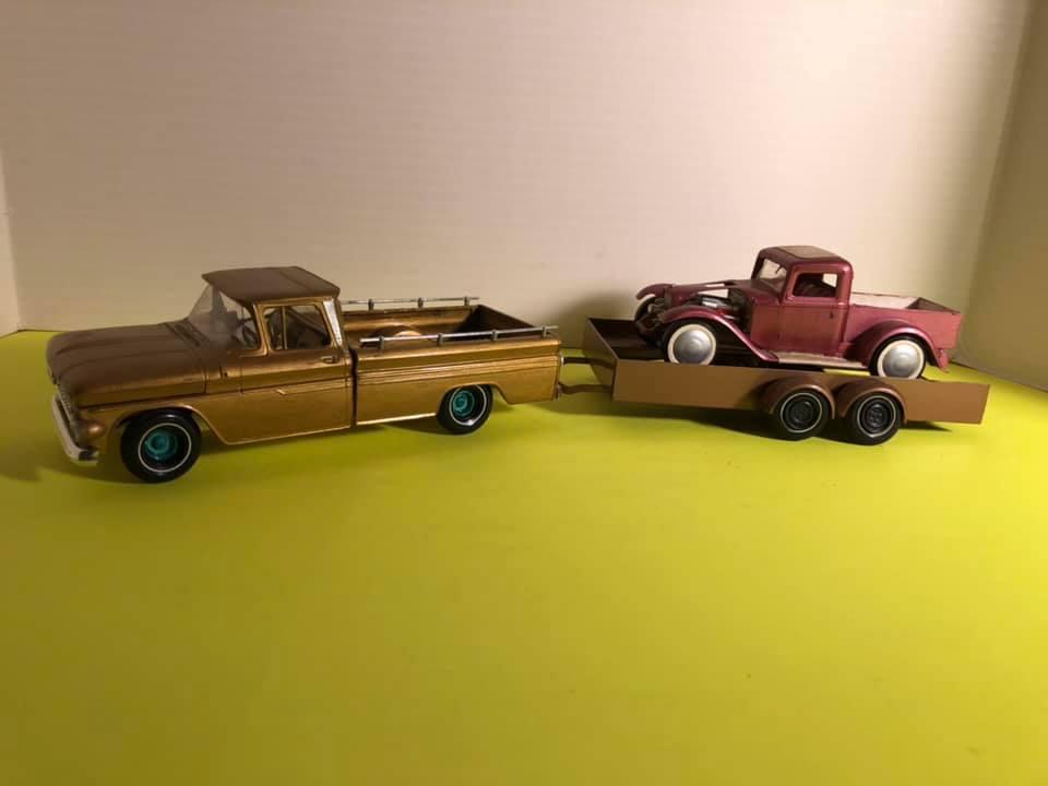Vintage built automobile model kit survivor - Hot rod et Custom car maquettes montées anciennes - Page 12 57038410