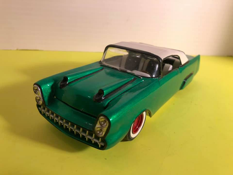 1957  Chevrolet - Customizing kit - trophie series -  amt - 1/25 scale 57044210