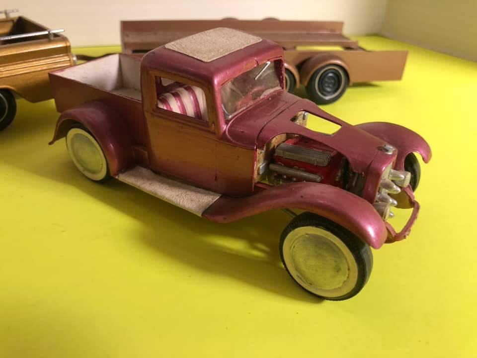 Vintage built automobile model kit survivor - Hot rod et Custom car maquettes montées anciennes - Page 12 57044310