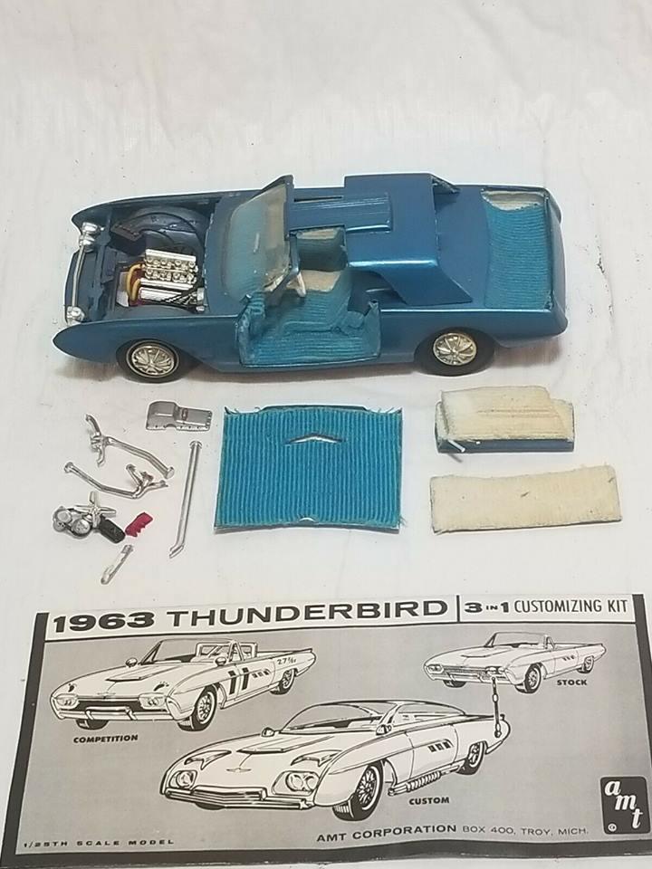 Vintage built automobile model kit survivor - Hot rod et Custom car maquettes montées anciennes - Page 12 57076210