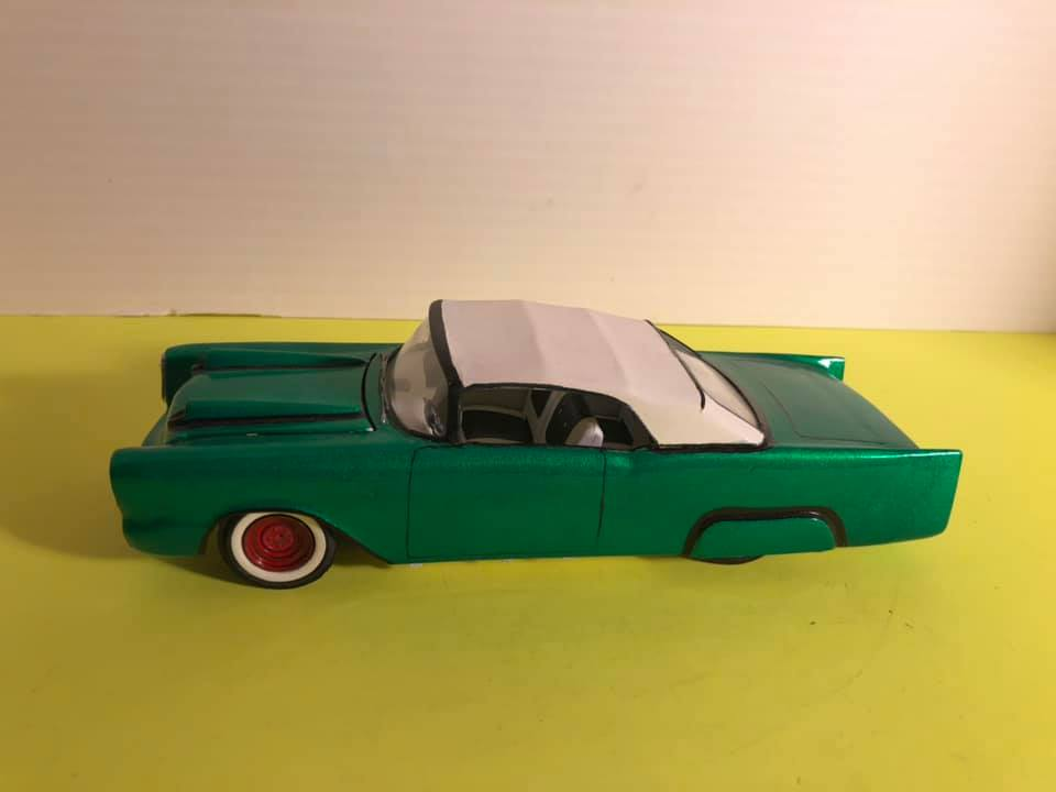 1957  Chevrolet - Customizing kit - trophie series -  amt - 1/25 scale 57109910