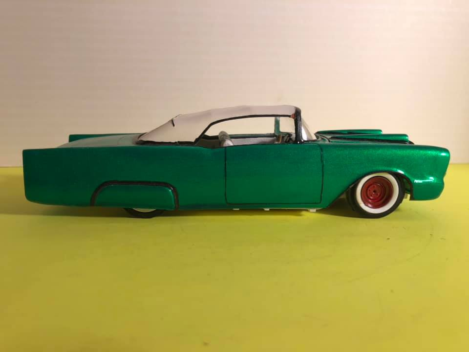 1957  Chevrolet - Customizing kit - trophie series -  amt - 1/25 scale 57133710