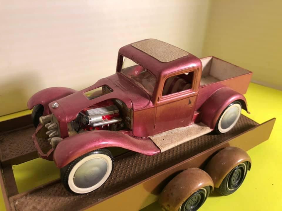 Vintage built automobile model kit survivor - Hot rod et Custom car maquettes montées anciennes - Page 12 57154811