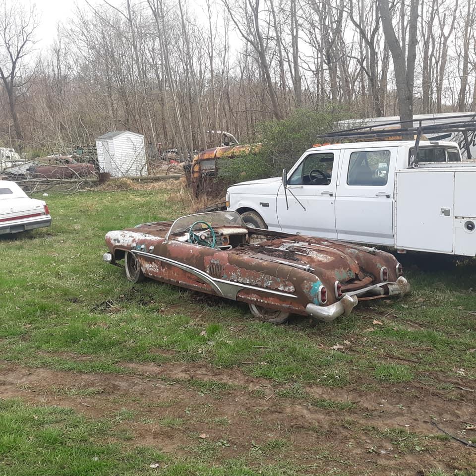 Sauvetage d'un Custom des années 50 - Custom car Survivor rescue 57176810