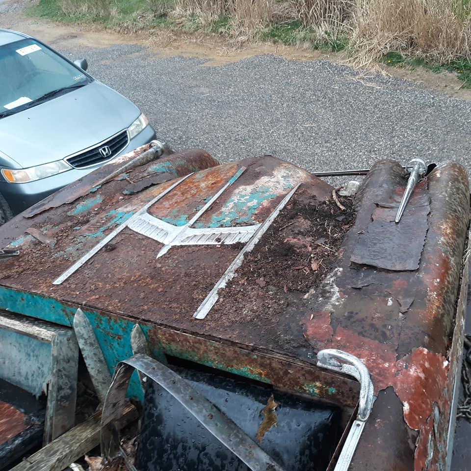 Sauvetage d'un Custom des années 50 - Custom car Survivor rescue 57244712